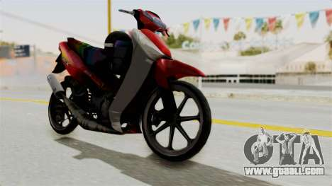 Suzuki RGX 120 for GTA San Andreas