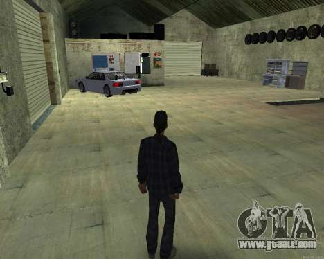 The interior of STO San Fierro for GTA San Andreas second screenshot