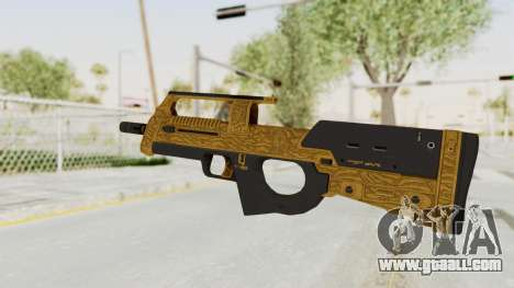 Assault SMG Lux for GTA San Andreas second screenshot