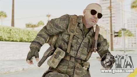 COD BO SOG Hudson v1 for GTA San Andreas