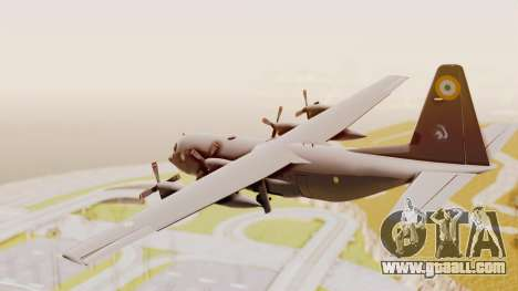 C130 Hercules Indian Air Force for GTA San Andreas right view