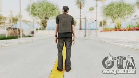 Alan Wake - Tor Anderson for GTA San Andreas third screenshot
