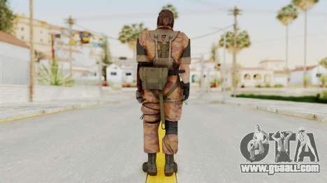 MGSV The Phantom Pain Venom Snake Golden Tiger for GTA San Andreas third screenshot