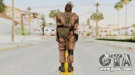 MGSV The Phantom Pain Venom Snake Golden Tiger for GTA San Andreas third screenshot