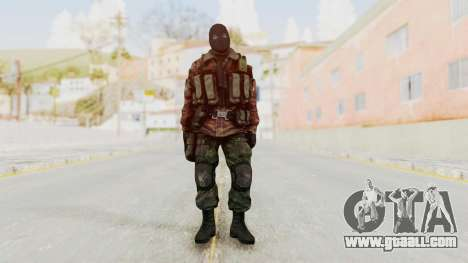 Battery Online Russian Soldier 8 v2 for GTA San Andreas second screenshot