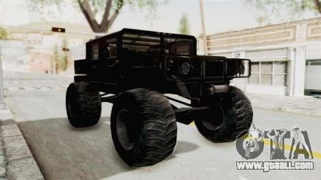 Hummer H1 Monster Truck TT for GTA San Andreas