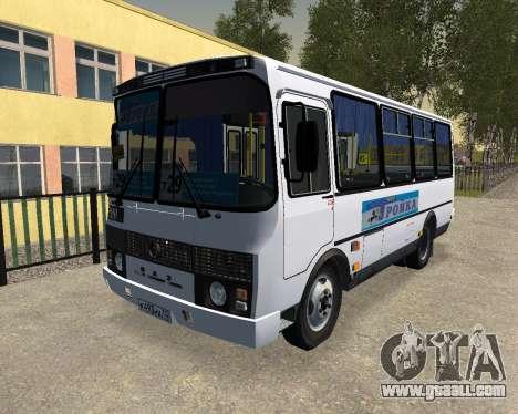 Paz 3205 Dzerzhinsk for GTA San Andreas