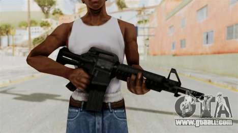 Liberty City Stories M4 for GTA San Andreas