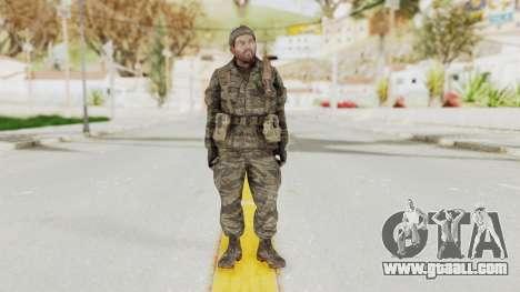 COD BO SOG Woods v1 for GTA San Andreas second screenshot