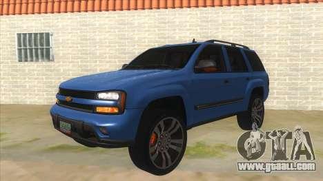 Chevrolet TrailBlazer for GTA San Andreas