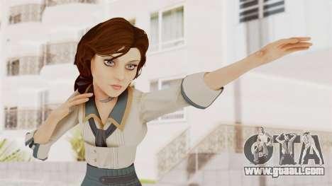 Bioshock Infinite Elizabeth Student for GTA San Andreas