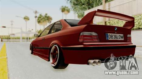 BMW 325i E36 Coupe for GTA San Andreas left view