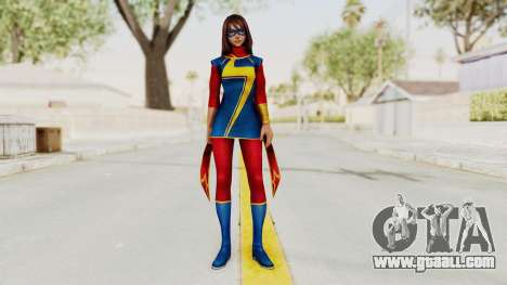 Marvel Future Fight - Kamala Khan for GTA San Andreas second screenshot