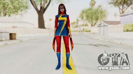 Marvel Future Fight - Kamala Khan for GTA San Andreas second screenshot