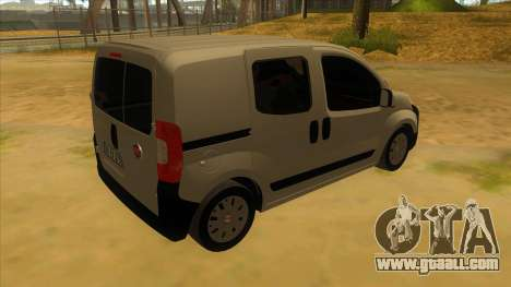 Fiat Fiorino Combi Mix for GTA San Andreas right view