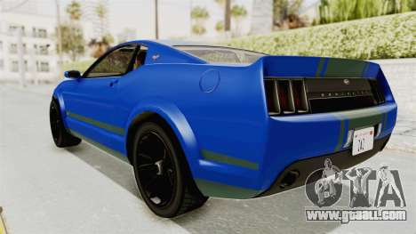 GTA 5 Vapid Dominator v2 IVF for GTA San Andreas left view