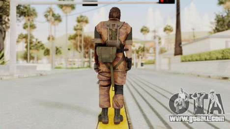 MGSV The Phantom Pain Venom Snake No Eyepatch v5 for GTA San Andreas third screenshot