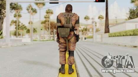 MGSV The Phantom Pain Venom Snake No Eyepatch v5 for GTA San Andreas third screenshot