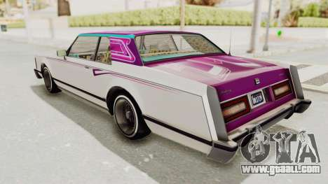 GTA 5 Dundreary Virgo Classic Custom v2 for GTA San Andreas wheels