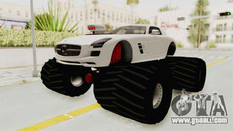 Mercedes-Benz SLS AMG 2010 Monster Truck for GTA San Andreas