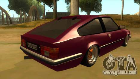 Opel Monza A1 for GTA San Andreas right view