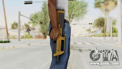 Assault SMG Lux for GTA San Andreas third screenshot