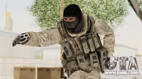 COD MW2 Shadow Company Soldier 3 for GTA San Andreas