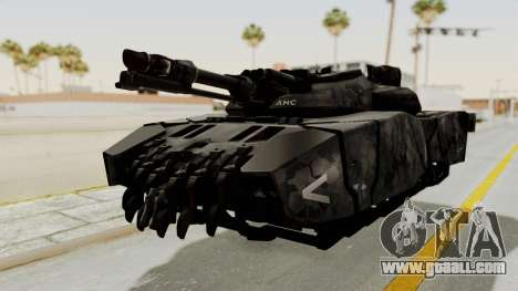 T-470 Hover Tank for GTA San Andreas back left view