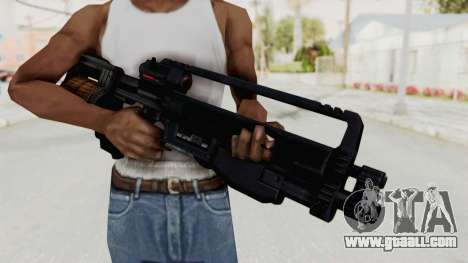 StA-52 Assault Rifle for GTA San Andreas third screenshot