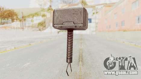 Marvel Future Fight - Mjolnir for GTA San Andreas third screenshot