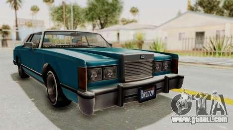GTA 5 Dundreary Virgo Classic Custom v3 IVF for GTA San Andreas right view