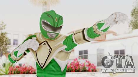 Mighty Morphin Power Rangers - Green for GTA San Andreas