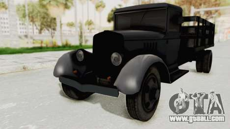 Ford AA from Mafia 2 for GTA San Andreas right view