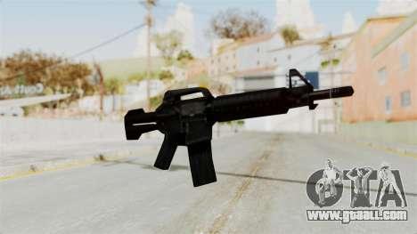 Liberty City Stories M4 for GTA San Andreas second screenshot