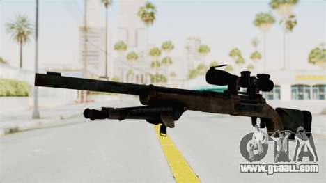 M24 Sniper Ghost Warrior for GTA San Andreas second screenshot