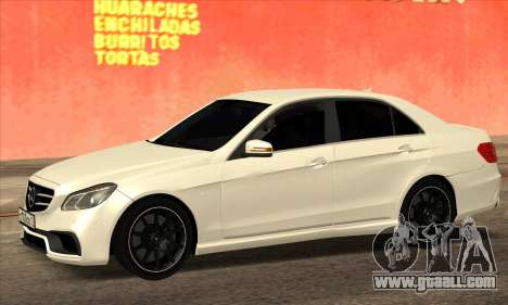 Mercedes-Benz E63 AMG 2014 for GTA San Andreas left view