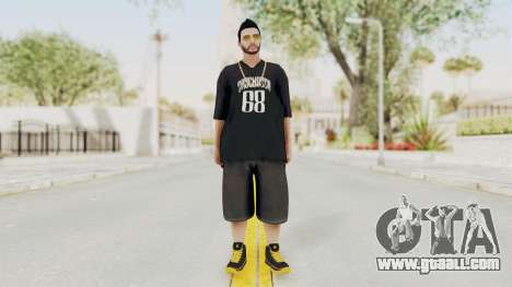 GTA 5 Online Male Skin 2 for GTA San Andreas second screenshot