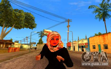 Iranian Girl for GTA San Andreas third screenshot