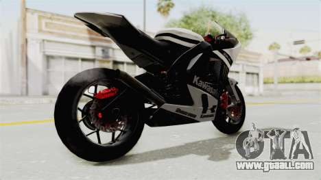 Kawasaki Ninja ZX-RR Streetrace for GTA San Andreas right view
