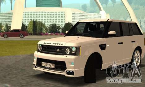 Range Rover Sport Tuning for GTA San Andreas side view
