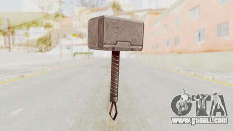 Marvel Future Fight - Mjolnir for GTA San Andreas second screenshot