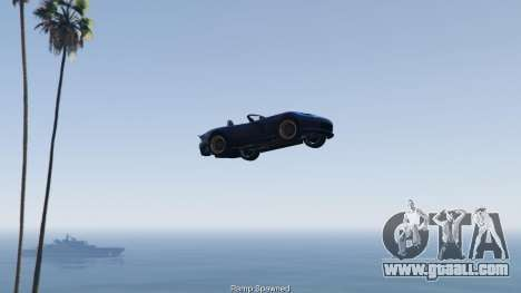GTA 5 Simple Ramp Spawner With Speed Boost 0.3 fourth screenshot