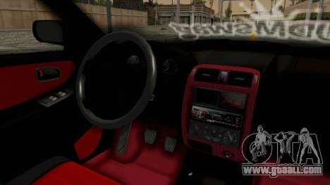 Mazda 626 Air for GTA San Andreas inner view