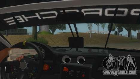 2016 Porsche 911 RSR for GTA San Andreas inner view