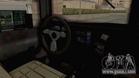 Hummer H1 Monster Truck TT for GTA San Andreas back view