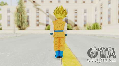 Dragon Ball Xenoverse Gohan Teen DBS SSJ2 v2 for GTA San Andreas third screenshot