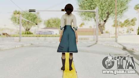 Bioshock Infinite Elizabeth Student for GTA San Andreas third screenshot