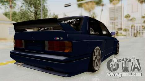 BMW M3 E30 for GTA San Andreas right view