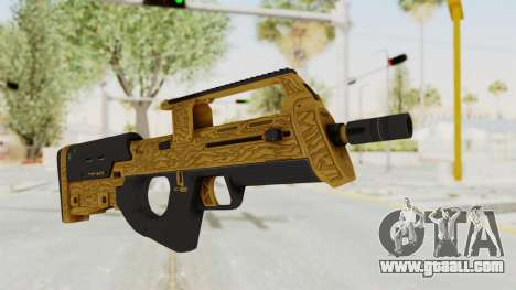 Assault SMG Lux for GTA San Andreas