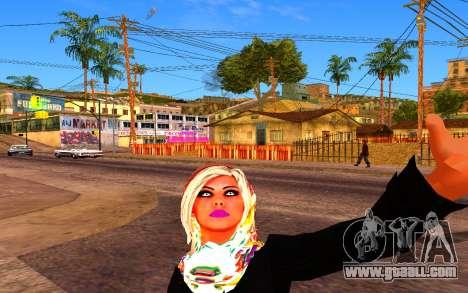 Iranian Girl for GTA San Andreas second screenshot